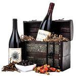 Custom Pinot Noir Wine Wooden Gift Chest