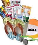 Custom Summer Survival Gift Basket