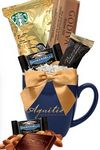 Custom Decadent Gourmet Gift Mug (Navy Blue)