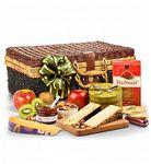 Custom Artisan Gourmet Cheese Gift Basket