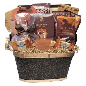 Cafe & Cookies Gift Basket