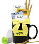Custom Tea & Honey Gift Mug (Black)