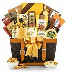 Custom Gourmet Treasure Gift Basket