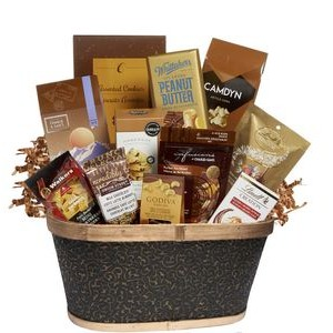 Masterpiece Treats Gift Basket
