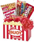Custom Movie Night Gift Basket
