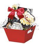 Custom Winter Snowflake Gift Basket (Assorted)
