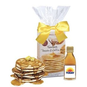 Mini Pancake & Branded Syrup Gift Set