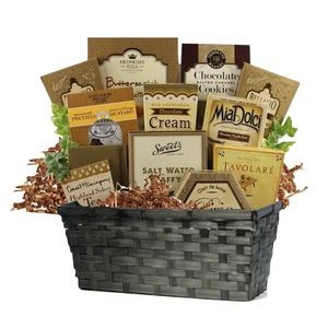 Basket of Chocolates and Cookies