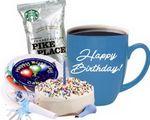 Custom Birthday Cake Gift Set