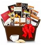 Custom Coffee & Cookies Gift Basket