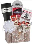 Custom Thermos Brand Tumbler Snack Basket