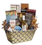 Custom Gourmet Greetings Gift Basket