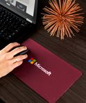 Custom Travel Soft Mouse Pad/Microfiber Cleaning Cloth & Keyboard Protector