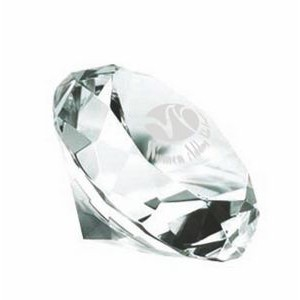 Glass Diamond Paper Weight