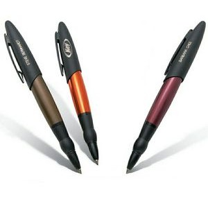 Incognito Snap Off Cap Rollerball Pen w/Finger Grip