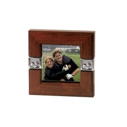 Golf Series Solid Wood Picture Frame w/Golf Accent