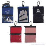Custom Golf Accessory Pouch with Carabiner