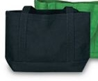 Custom Solid Color Canvas Tote Bag