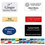 Custom Engraved Name Badge All Sizes