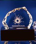 Custom Lighted Custom Base for Iceberg Awards