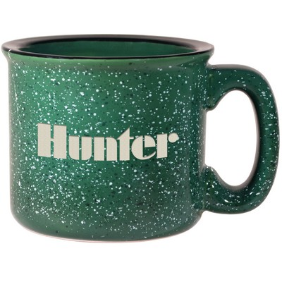 Campfire Mug - Dark Green (15 Oz.)