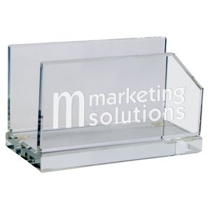 Crystal Clear Business Card Holder