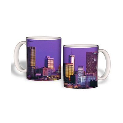 White Mug (11 Oz., Atlanta Skyline Mug)