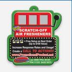 Custom Scratch & Win Air Fresheners - Slot Machine