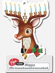 Custom Oversized Reindeer Detachable Coupon Air Freshener
