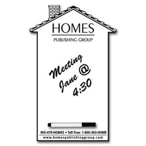 "House Shaped Magnetic Memoboards - 5.4""x8.25"""