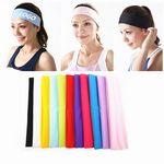 Custom Stretchy Yoga Sweatband/ Hair Band