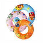 Custom 80cm Pvc inflatable swimming ring