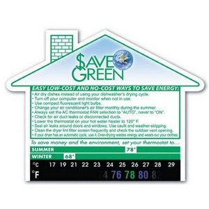 Eco Thermo-Strip™ Large House Shape Magnet