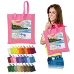 Custom Brand Gear Maui Polyester PVC Tote Bag (13 3/4