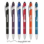 Custom Parisian Soft Touch Stylus Pen