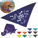 Custom Paws for Life Pet Bandanna - Large