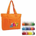 Custom Brand Gear Hawaii Deluxe Polyester PVC Tote Bag (15