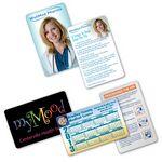 Custom Calendar/Pharma/Health Vinyl VIP Card (VibraColor)