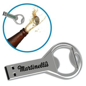 USB 2.0 Key Drive™ KB Flash Drive w/ Bottle Opener (2GB)