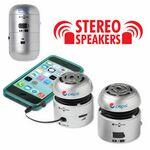 Custom AudioStar A22 Silver Stereo Speaker Set