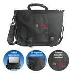 Custom Brand Gear Portland Nylon Laptop Bag Briefcase (16
