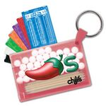 Custom Pick & Mint Dispenser w/ Key Ring (Toothpicks & Peppermints)