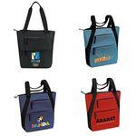 Custom Multi-Zip Tote Bag (15