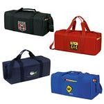 Custom Single Compartment Square Duffle Bag (19