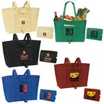 Custom Easy Fold Up Shopping Tote Bag (22