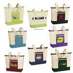 Custom Jumbo Zip Tote Bag (21