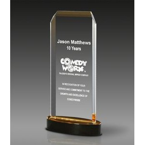 "Value Mirror Nouveau™ Award (4"" x 7 7/8"" x 1 1/2"")"