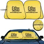 Custom Prest -O- Shade (R) Registered Brand Patented Collapsible Fabric Sunshade with Pivot system