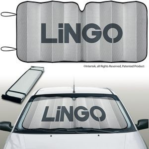 Slimline™ Accordion Auto Sun Shade Eluminator Brand