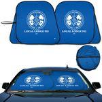 Custom Prest - O- Shade (R) Collapsible Fabric Sunshade